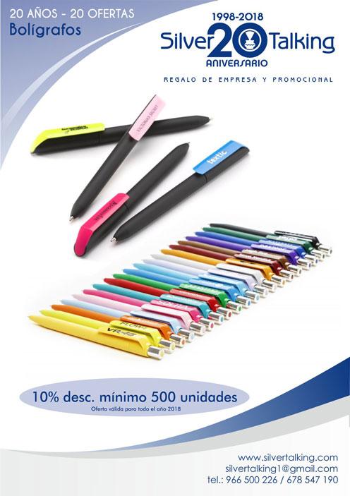 Ofertas bolígrafos