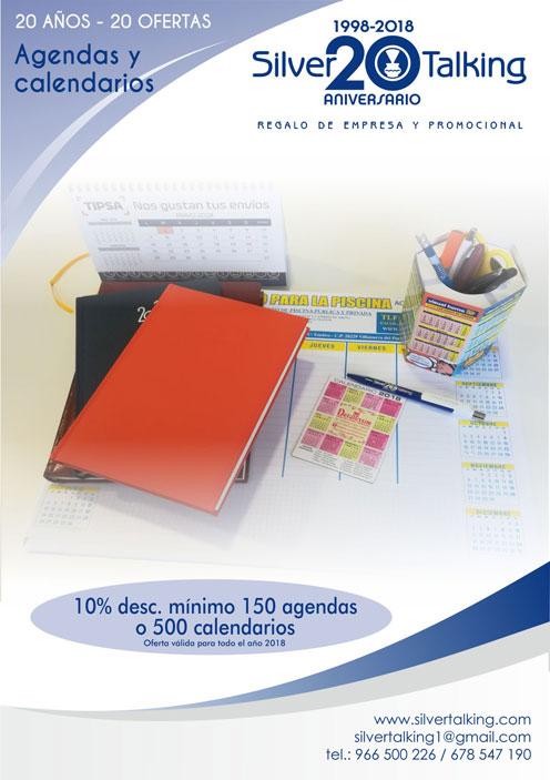 Ofertas agendas y calendarios