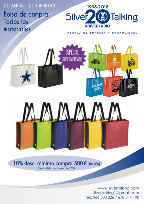 Ofertas bolsas de compra